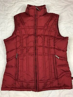 Woolrich Vest Quilted Puffer Winter Red Women's Size S Small