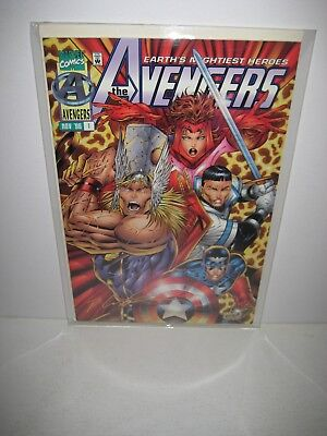Avengers 1 Volume 2 Rob Liefeld Gold Signature Edition New 2056/2100
