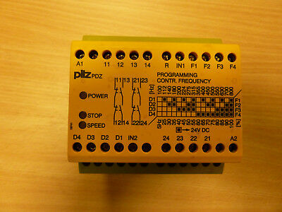 pilz pdz  frequency sensing relay. 24volt dc. New-old stock.