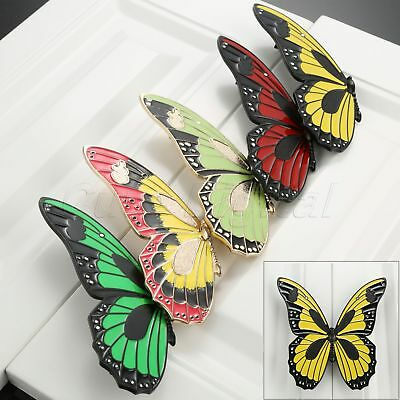 Unique Butterfly Shape Furniture Drawer Door Pull Handles Wardrobe Cabinet Knobs