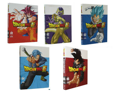 Dragon Ball z Super Part One and two 1 & 2 dvd Bundle Combo NEW free shipping