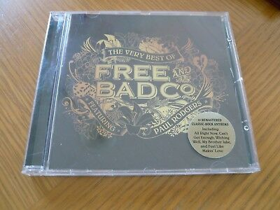 Free & Bad Company - The Very Best of - Featuring Paul Rodgers - CD - Hits -