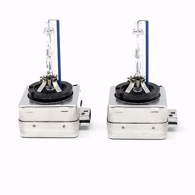 2x D1S 6000K HID XENON PAIR Two REPLACEMENT BULB Lamp Bright White Light x2 DS1