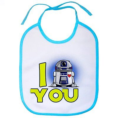 Babero Star Wars I Love You R2D2 androide