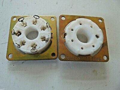 B7A PTFE Valve Base Tube Sockets BY HAT For QQVO64A 829B Valves  NOS 1 Pc