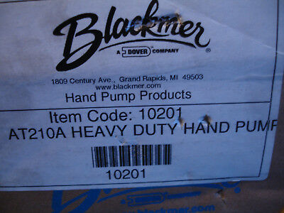 "Blackmer Heavy Duty HandPump Transfer Pump AT210A 3/4"" Drum Barrel 210A  10201"