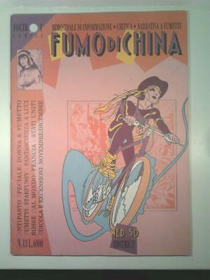 FUMO DI CHINA #13 Ned 50 1992 Speciale Donna & Fumetto