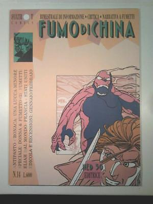 FUMO DI CHINA #14 Ned 50 1992 Speciale Donna & Fumetto - Enoch