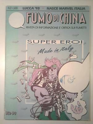 FUMO DI CHINA #22 Ned 50 1993 Super Eroi made in Italy