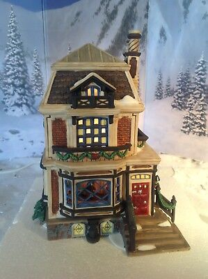"""Department 56 A Christmas Carol """"Fred Holiwell's House"""""""