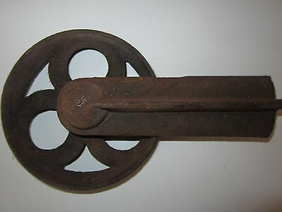 Antique Vintage Industrial Cast Iron Wheel Steampunk Garden Wall Art