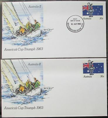 America's Cup Triumph 1983 Pre-Stamped Envelopes / PSE