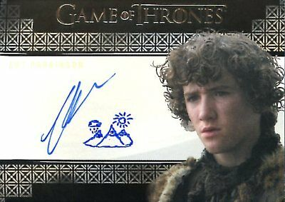 Game Of Thrones Valyrian Steel AUTOGRAPH card ART PARKINSON - Art/Doodle VARIANT