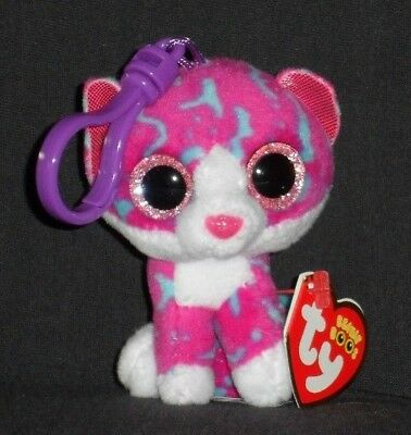 5a4d0cc9adb TY BEANIE BOOS - CHARLOTTE the CAT KEY CLIP - CLAIRE S EXCL - NEAR PERFECT  TAG