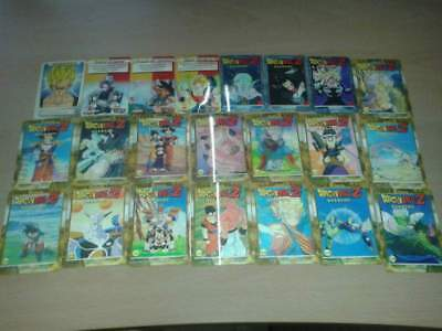 Serie Completa Dragon Ball Z Gold Lenticolari 50 Cards