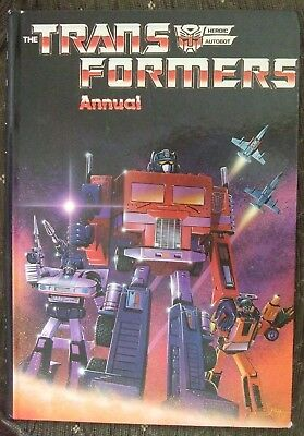 The Transformers Annual Hardcover – 1985 - Vintage Book