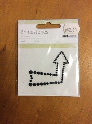 Embellishments For Craft And Scrapbooking, Kaiser Rhinestones, Arrow
