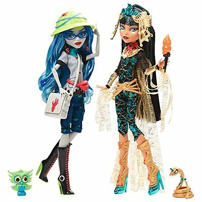 Monster High SDCC 2017 Cleo de Nile and Ghoulia Yelps 2 Pack