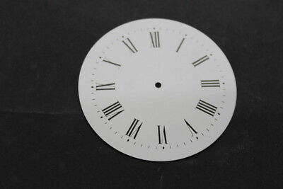 White Metal Clock Dial Face 75mm