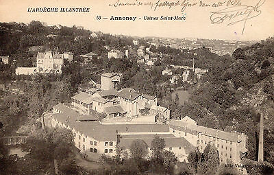 Carte Postale ANNONAY Usines Saint Marc