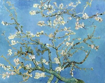 Almond Blossom Painting by Vincent van Gogh Art Reproduction