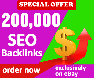 200,000 Verified SEO Backlinks to Promote Your Website in Google + Full Report