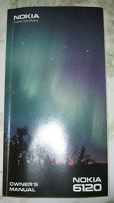 Vintage Classic NOKIA 6120 Instruction Manual / User Guide