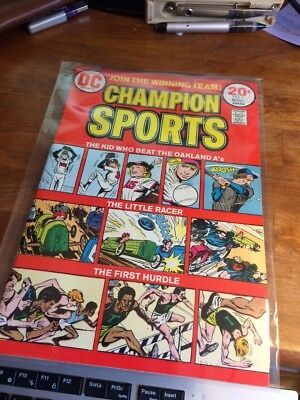Champion Sports #1 (Oct-Nov 1973, DC)