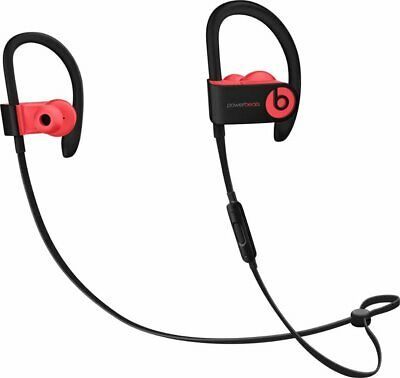 New Authentic Beats by Dr. Dre Powerbeats3 Wireless Headphones - Siren Red