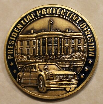 United States Secret Service Presidential Protection Division Challenge Coin