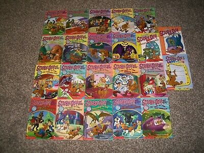 Lot of 22 Scooby-Doo Kid's Chapter Books Cartoon Network Mysteries FREE SHIPPING