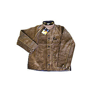 Unimig Xcelarc XX-Large Heat and Flame Resistant Leather Front with Proban Back