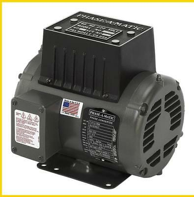 R-2  2 Hp - 220 Vac - Phase-A-Matic Rotary Phase Converter