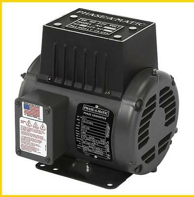 R-1   1 Hp - 220 Vac - Phase-A-Matic Rotary Phase Converter