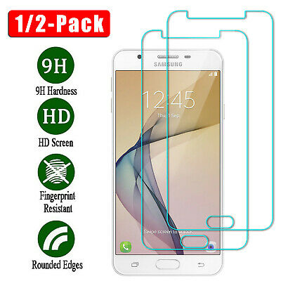 For Samsung Galaxy J7 Sky Pro/Perx / Prime Clear Tempered Glass Screen Protector