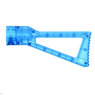 Worker Mod Shoulder Stock Replacement Blue Clear For Nerf N-strike Elite Toy