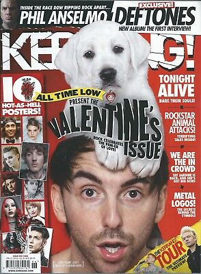 KERRANG! #1606 FEB 2016: ALL TIME LOW Tonight Alive SUM 41 Phil Anselmo KISS