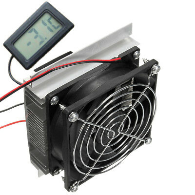 DC 12V Thermoelectric Semiconductor Refrigeration Pet Air Conditioner Cooler Fan