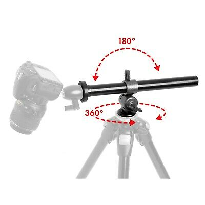 Tripod Boom Arm Video Boom Overhead Shooting Camera 360° Top Down