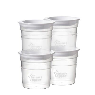 Tommee Tippee Milk Storage Pots Dishware Suitable For Freezing TOP Quality New