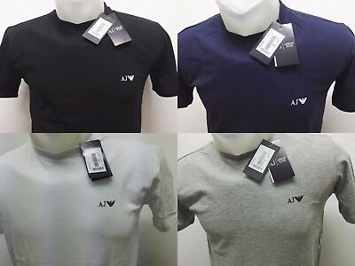 ARMANI Short sleeve crew neck Men's T-shirt Fast and Free UK Delivery