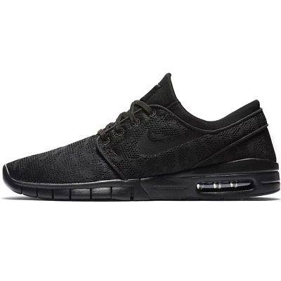NIKE AIR SB STEFAN JANOSKI MAX ALL BLACK 38.5-48.5 NEU 150€ koston free trainer