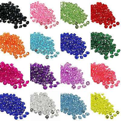 100 to 6000 4.5mm Acrylic Table Scatter Crystal Diamond Confetti Wedding