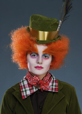 Kids Size Mad Hatter Wig and Hat