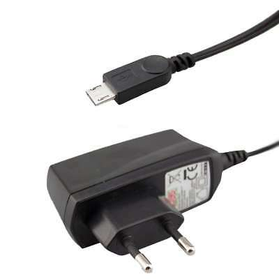 Travelcharger EU Micro USB Cable Sony HDR-CX405 Full HD Camcorder