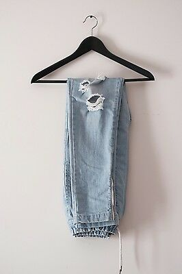 I Love Ugly Zespy Pants (Distressed Denim) Size S
