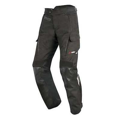 Alpinestars Andes Drystar V2 Waterproof Textile Motorcycle Trousers Black Short
