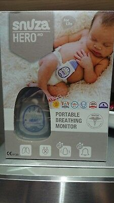 Snuza Hero md bay breathing monitor. New