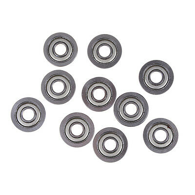 10PCS Flange Ball Bearing F608ZZ 8*22*7 mm Metric Flanged Bearing NA