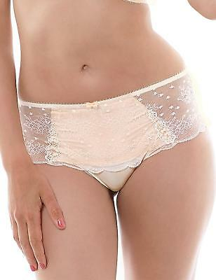 26e522c61b80 BNWT - Sexy LA SENZA High Waist Lace and Mesh Thong - Size M - Sunkissed  Sand.